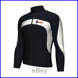 Cycling Jacket Windproof Windstopper Fleece Thermal Winter Long Sleeve Jacket