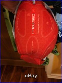 Cycling TT Long Sleeve Skinsuit / Speedsuit Cannondale Garmin Castelli 3.1 XS
