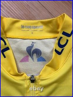 Egan Bernal Team Sky Paris Nice Leader jersey cycling long