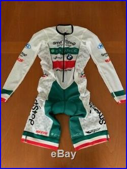 Eliel Men's Long Sleeve Aero Cycling Speedsuit EXTRA SMALL