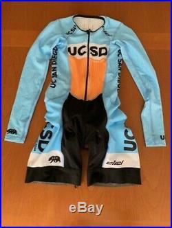 Eliel Women's Long Sleeve Aero Cycling Speedsuit MEDIUM