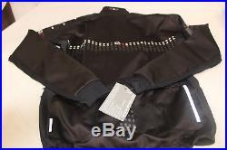 GIORDANA Men's FRC Trade Forte Long sleeve Jacket Blk Size L, NWT Retail $350