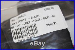 GIORDANA Men's FRC Trade Forte Long sleeve Jacket Blk Size XL, NWT Retail $350