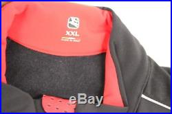 GIORDANA Men's FR-C Long Sleeve Jersey, Black, Size 2XL, NEW MSRP $225