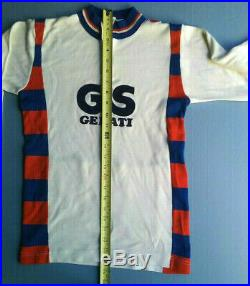 GIS Gelati team vintage Castelli wool jersey, long sleeve, medium size
