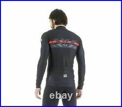 Giordana Cycling Long Sleeve Jerseys Trade FR -C RaggiBlack/RedBRAND NEW