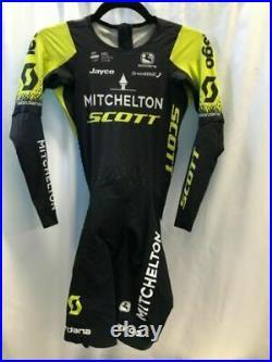 Giordana Long Sleeve Skinsuit Mitchelton Scott World Tour Men's Size Medium