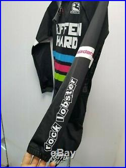 Giordana Size Small Long Sleeve Custom Race Team Skinsuit (WORLDWIDE SHIPPING)