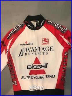 Girodana cycling suit long sleeve spandex bike racing Medium jersey sponsored
