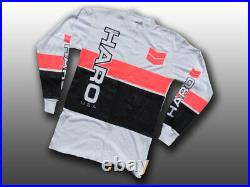 Haro Designs Old School BMX, Long-Sleeve Jersey Freestyle Cycling, XL