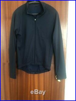 Isadore Long Sleeve Merino Jersey Indigo Blue Size L