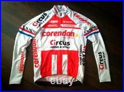 Jersey long sleeves Corendon Circus ex dutch champion VAN DER POEL (alpecin sky)