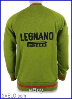 LEGNANO PIRELLI vintage wool long sleeve jersey, new, never worn XXL