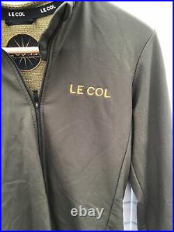 Le Col Hors Categorie Long Sleeve Khaki Size Medium BNWOT