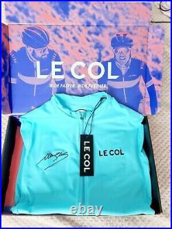 Le Col Womens Lion of Flanders Pro Long Sleeve Jersey Medium NEW WITH TAGS