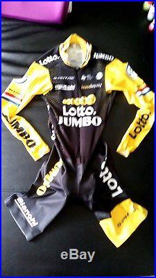 Lotto Jumbo Bianchi Speedsuit in long sleeve S