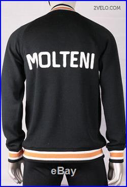 MOLTENI vintage wool long sleeve jersey, new, never worn XL