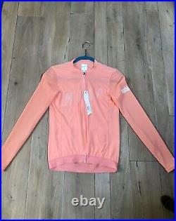 Maap Echo Pro Long Sleeve Jersey Light Coral Size Large BNWT Sold Out