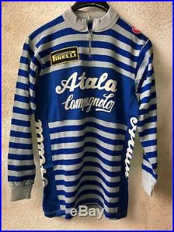 Maglia Jersey Shirt Cycling Ciclismo Eroica ATALA CAMPAGNOLO LONG SLEEV Castelli