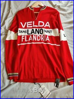 Magliamo Long Sleeved Freddy Maertens 1978 Velda-Flandria Jersey