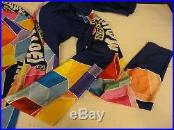 Mapei Quickstep Colnago long winter autumn jersey pants cycling set size L VGC