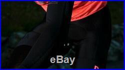Men's Pro Team Long Sleeve Aero Jersey Black Size Large