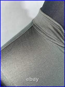 Men's Rapha Brevet Long sleeve Windblock jersey Jacket Large Gray