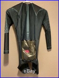 Mens Nopinz Trip Suit Narrow, Medium/Large Skinsuit, Long sleeve Time Trial
