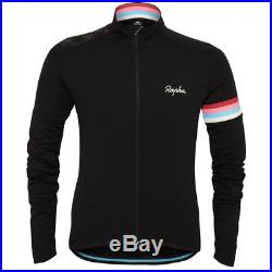 Merino Blend Team Focus Rapha Long Sleeve CycloCross Cycling MTB Jersey Sz Med