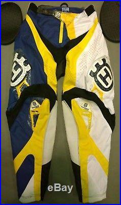 Motocross Racing Suit Husqvarna Husky Combo Jersey Pants long Sleeve Shirt S-2XL
