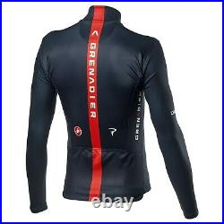 NEW 2021 Castelli INEOS GRENADIERS Thermal Long Sleeve Jersey, SAVILE BLUE, XL