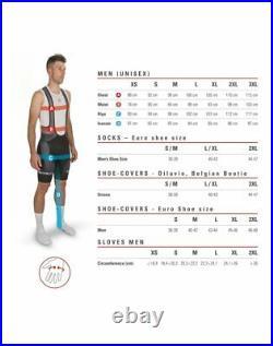 NEW Castelli PURO 3 Long Sleeve Cycling Jersey, Orange, Size Large
