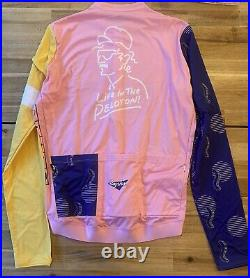 NEW Rapha LITP Mens Long Sleeve Cycling Jersey Size Large Limited Edition