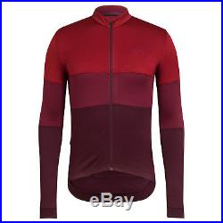 NEW Rapha Long Sleeve TriColour Jersey XS S XXL Cycling RCC Merino Wool Hi VIz