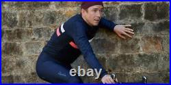 NEW Rapha Men's Cycling Brevet Windblock Jersey XL Long Sleeve RCC Navy Blue