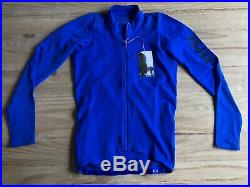NEW Rapha Pro Team Aero Long Sleeve Jersey Mens Medium Ultramarine RCC Brevet