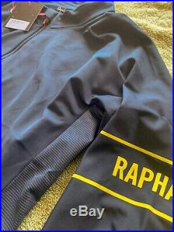 (NEW) Rapha Pro Team Long Sleeve Thermal Jersey Navy Medium