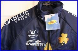 NEW Vermarc / Aqua Blue LS Long Sleeve Thermal Jacket Midweight / XS X-Small 17