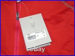 NWT Ibex Ride Cycling Merino Wool Long Sleeve Shirt Jersey Medium Salsa Red USA