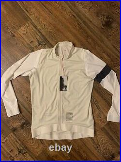 NWT Rapha Pro Team Long Sleeve Training Jersey Off-White/White Size XL