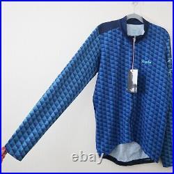 NWT Rapha Size XL Mens Cross Long Sleeve Race Jersey Blue
