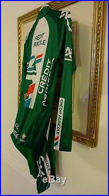 Nalini Credit Agricole Look Long Sleeve Cycling Skinsuit Size 4