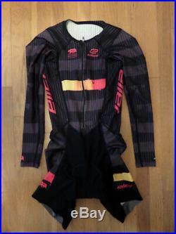 New Eliel Women's Long Sleeve Aero Cycling Speedsuit MEDIUM NWOT