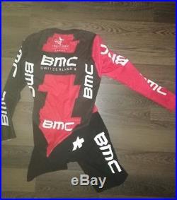 New! , Professional Race BMC skinsuit long Assos TT size M. No Sky, Rapha, trek