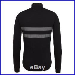 New Rapha Brevet Long Sleeve Windblock Jersey M L XL Black 3M Cycling RCC RARE