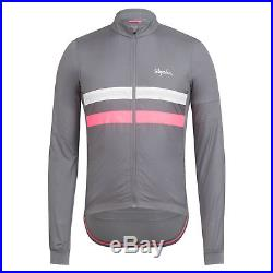 New Rapha Brevet Long Sleeve Windblock Jersey S M L XL XXL Cycling RCC Hi Vis
