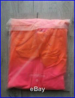 New Rapha Orange Pink Long Sleeve Pro Team Aero Colourburn Size M Bike Sport
