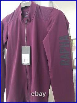 New Rapha Pro Team Aero Jersey POP (Purple On Purple) Medium Long Sleeve