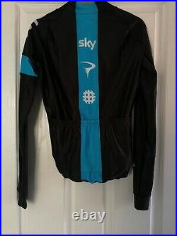 New Rapha Pro Team Sky Long Sleeve Minns Pro Cycling Size M Limited Collection