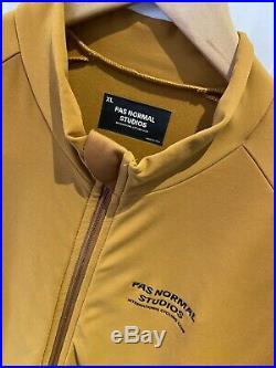 Pas Normal Studios Long Sleeve Jersey Burnt Orange Size XL